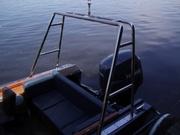 Ограждения , тюнинг на яхты.Киев.