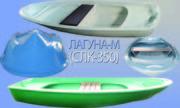 Продается стеклопластиковая гребная  лодка Лагуна-М