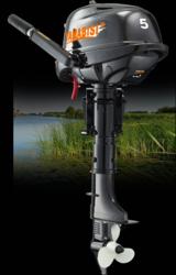 Продам Yamabisi F 5 BMS подвесной лодочный мотор