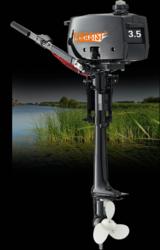 Продам Yamabisi T 3, 5 BMS подвесной лодочный мотор
