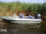 Лодка Крым М с мотором Ямаха 20